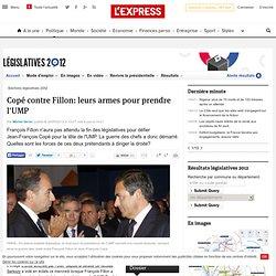 Copé contre Fillon: leurs armes pour prendre l'UMP