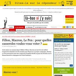 Fillon, Macron, Le Pen : pour quelles casseroles (...)