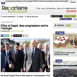 Fillon et Juppé, deux programmes contre l'écologie