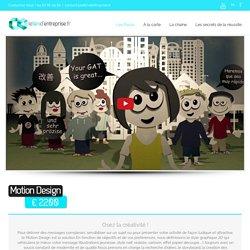 Le film d'entreprise – Motion Design