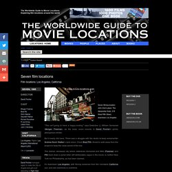 Film locations for Seven (1995)