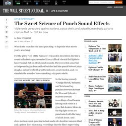 Film: How to Make Punch Sound Effects