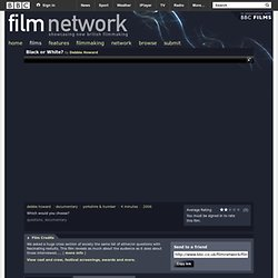 Film Network - Black or White?