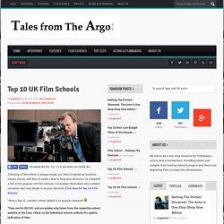 Top 10 UK Film Schools