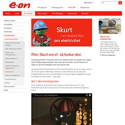 Film: Skurt om el - så funkar den - E.ON