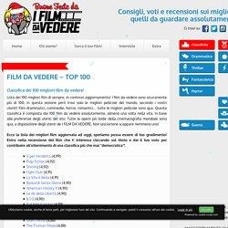 FILM DA VEDERE - I 100 migliori film di sempre!