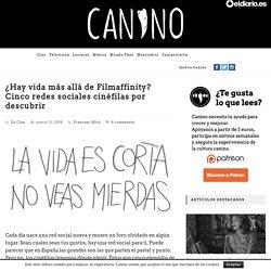 ¿Hay vida más allá de Filmaffinity? Cinco redes sociales cinéfilas por descubrir