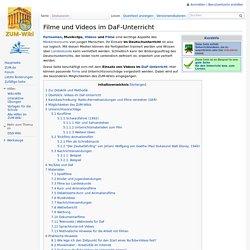 Filme und Videos im DaF-Unterricht – ZUM-Wiki