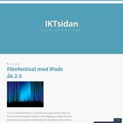 Filmfestival med iPads åk 2-3