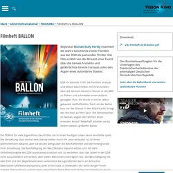 Filmheft zu BALLON : VISION KINO