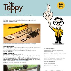 Filming mobile device usability testing is easy with Mr. Tappy
