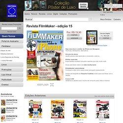FilmMaker edição 3 - Editora Europa: Revistas e Livros de Primeira Classe
