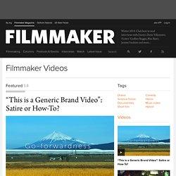 Filmmaker Videos
