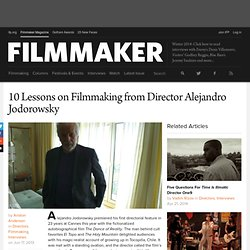 10 Lessons on Filmmaking from Director Alejandro Jodorowsky