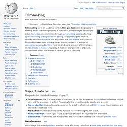 Filmmaking - Wikipedia