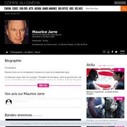 Maurice Jarre (1924 - 2009)
