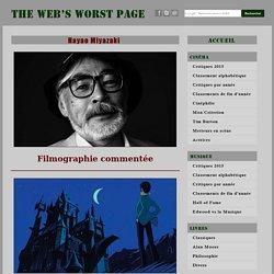 Hayao Miyazaki - sa filmographie commentée