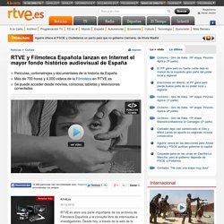 RTVE y Filmoteca Española lanzan en Internet el mayor fondo histórico audiovisual de España