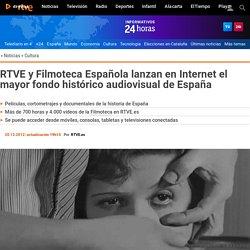 y Filmoteca Española lanzan en Internet el mayor fondo histórico audiovisual de España