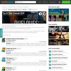 Top 15 Films Français 2012, une liste de films par asg13