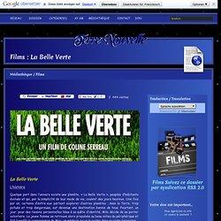 Films : La Belle Verte