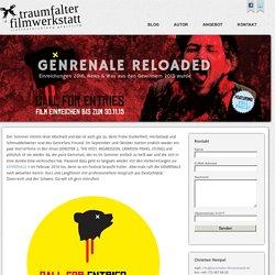 GENRENALE RELOADED « traumfalter filmwerkstatt