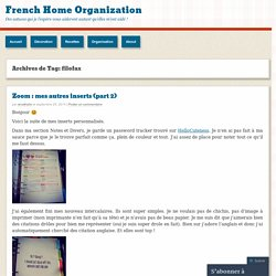 French Home Organization