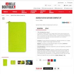 Agenda Filofax Saffiano Compact Zip - La Belle Boutique.ch