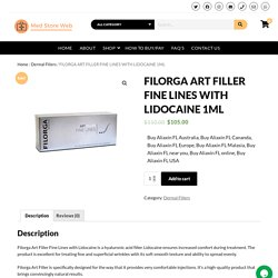 FILORGA ART FILLER FINE LINES WITH LIDOCAINE 1ML – Med Store Web