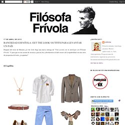 FILOSOFA FRIVOLA