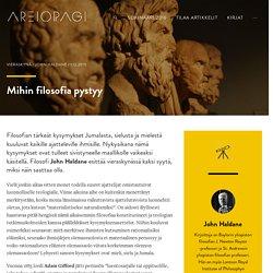 Mihin filosofia pystyy - Areiopagi