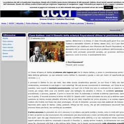 Caso Galileo: così il filosofo della scienza Feyerabend difese la posizione della Chiesa
