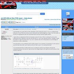Jet AFS-500 air filter PCB repair – help please. : General Chat (Off-Topic)