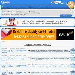 Filter - ponuky ubytovania - Spinkaj.sk