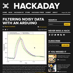 Filtering Noisy Data with an Arduino