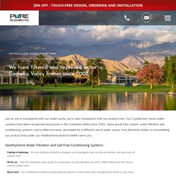 Cochella Valley Water Experts