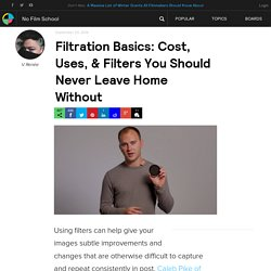 Filtration Basics: Cost, Uses, & Filters You Should Never Leave Home Without