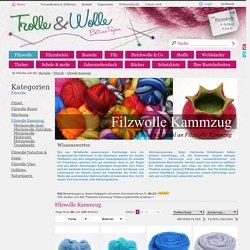 Filzwolle - Filzwolle Kammzug