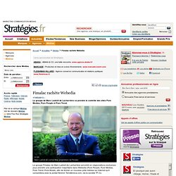 05/2013 Fimalac acquiert Webedia