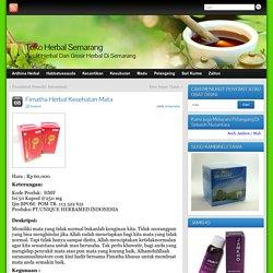 Fimatha Herbal Kesehatan Mata » Toko Herbal Semarang