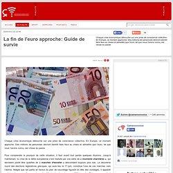 La fin de l'euro approche: Guide de survie