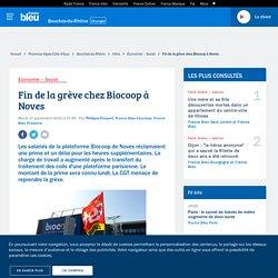 Fin de la grève chez Biocoop à Noves