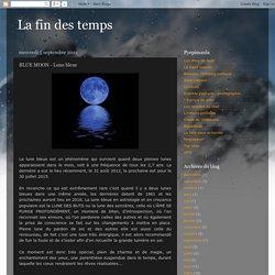 BLUE MOON - Lune bleue