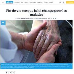 Fin de vie : ce que la loi change pour les malades