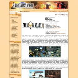 Final Fantasy IX World