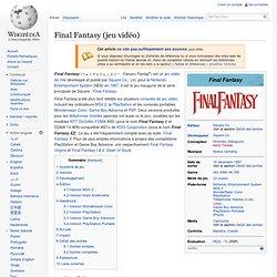 Final Fantasy (jeu vidéo)