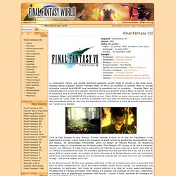 Final Fantasy VII World