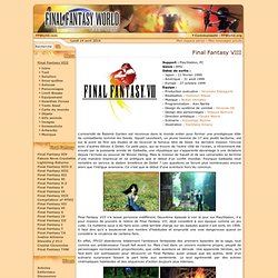 Final Fantasy VIII World