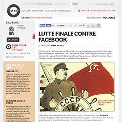 Lutte finale contre Facebook