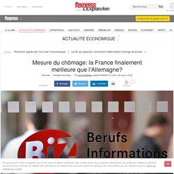 Mesure du chômage: la France finalement meilleure que l'Allemagne?